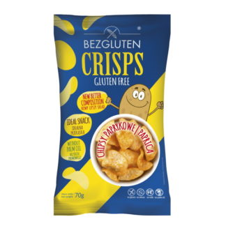 Bezgluten - Eiweißarme Chips - Paprika