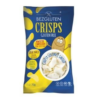 Bezgluten - Eiweißarme Chips - Salz