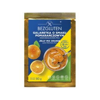 Bezgluten - Gelée hypoprotidique avec saveur d'orange
