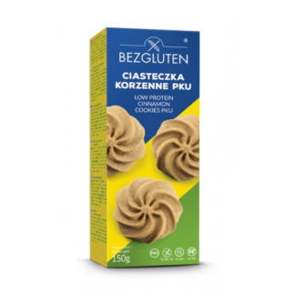 Bezgluten - Biscuits à la cannelle hypoprotidiques