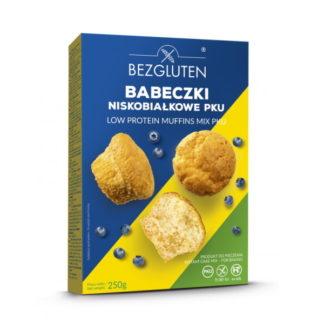 Bezgluten - Eiweißarmer Muffinmix