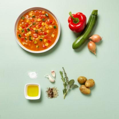 Ellas Basenbande - Mediterrane Gemüsepfanne - Zubereitet