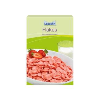 Loprofin - Eiweißarme Flakes Erdbeergeschmack