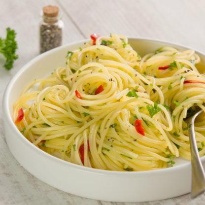 Loprofin - Eiweißarme Spaghetti - Zubereitet