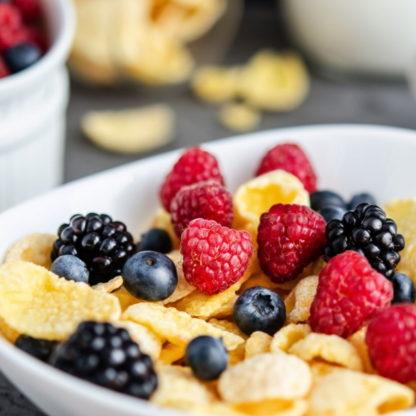 Milupa - Eiweißarme Frühstücksflocken lp-flakes - Zubereitet