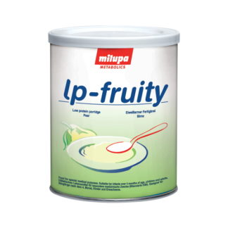 Milupa - Eiweißarmer Brei lp fruity Birne