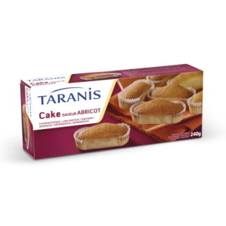 Taranis Cakes aromatisés saveur abricot