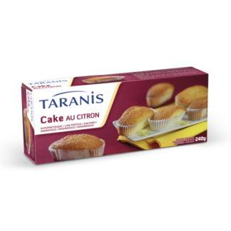 Taranis Cake aromatisés saveur citron