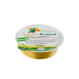 Vitaness - Eiweißarmer Brotauftstrich - Karotte-Brokkoli