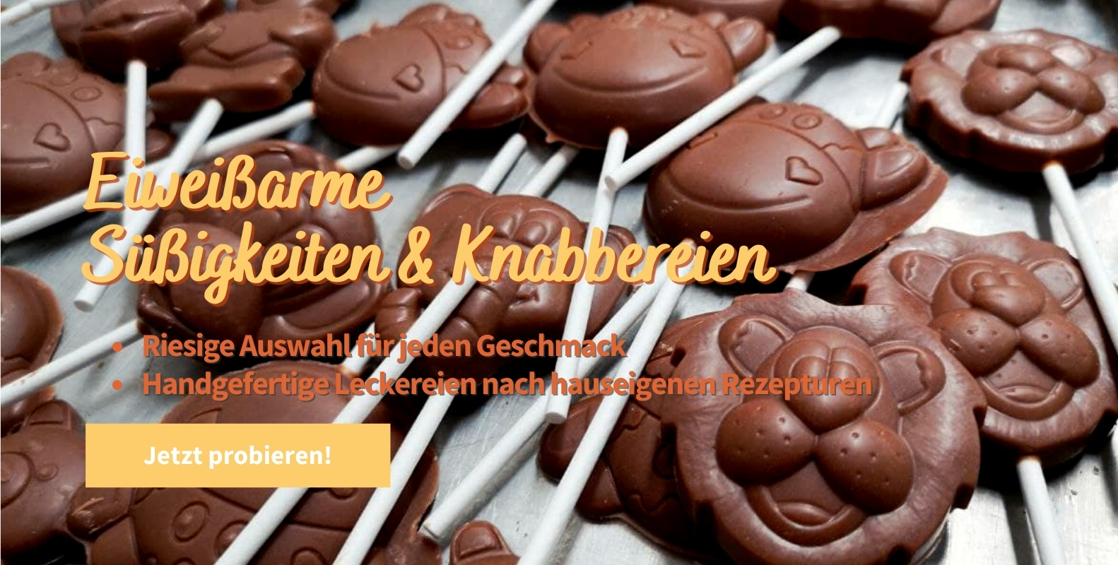 Eiweißarme Süßigkeiten & Knabbereien kaufen - Eiweißarme Lebensmittel kaufen