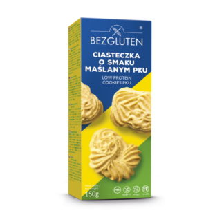 Bezgluten - Eiweißarme Cookies