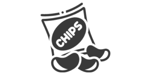 Eiweißarme Chips & Knabbereien