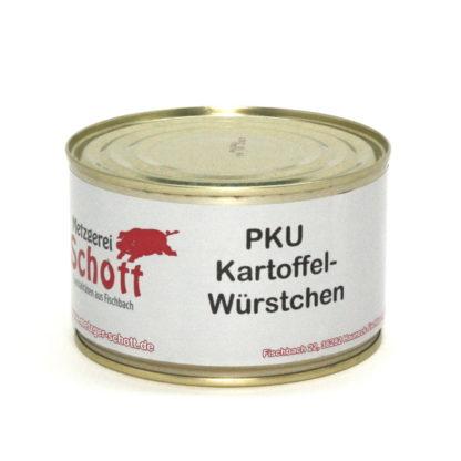 Metzgerei Schott - PKU Kartoffelwürstchen