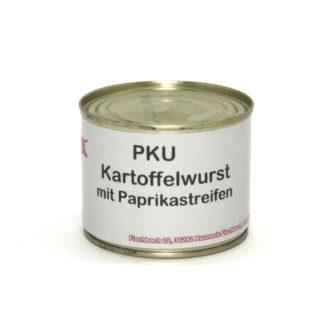 Metzgerei Schott - PKU Kartoffelwurst mit Paprikastreifen