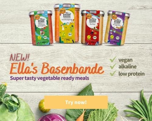 Low protein foods - Ellas Basenbande